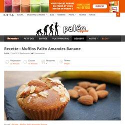 Muffins Paléo Amandes Banane
