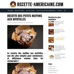 Petits muffins aux myrtilles