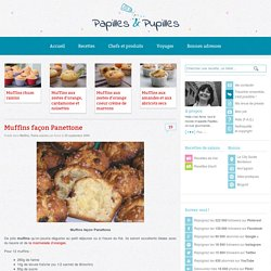 recette de Muffins façon Panettone