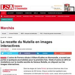 Annexe 2 sur la production simplifiée : La recette du Nutella en images interactives