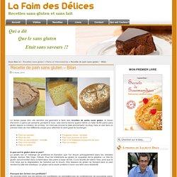 Recette de pain sans gluten - Bilan