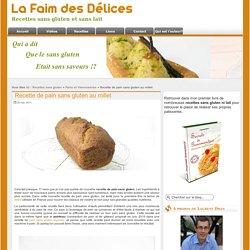 Recette de pain sans gluten au millet