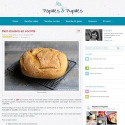 Recette de pain maison en cocotte