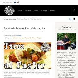 Tacos Al Pastor à la plancha