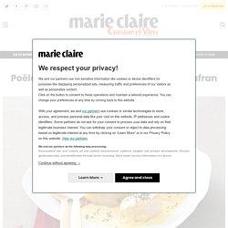 Recette Poêlée de Saint-Jacques à la crème de safran