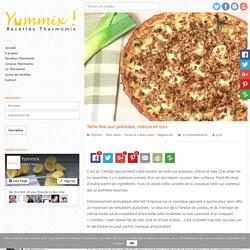 Recette de tarte aux poireaux Thermomix