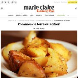 Recette pommes de terre au safran