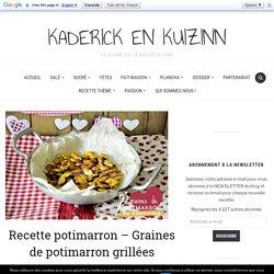 Recette potimarron - Graines de potimarron grillées curcuma