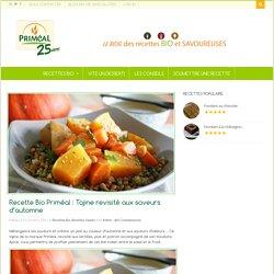 Recette Bio Priméal : Tajine revisité aux saveurs d'automne - Blog Priméal