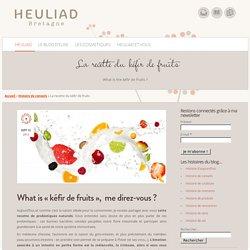 La recette du kéfir de fruits, des probiotiques naturels.