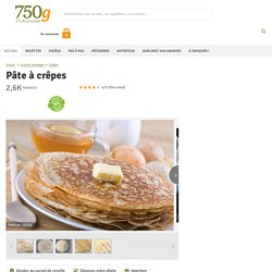 Fiche de cuisine complète - 750 grammes