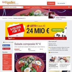 Recette de Salade composée N°4 par vece helena