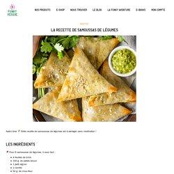 La recette de samoussas de légumes - Funky Veggie