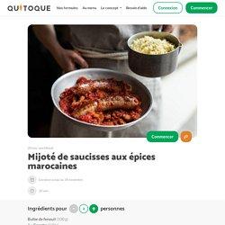 Recette Mijoté de saucisses aux épices marocaines