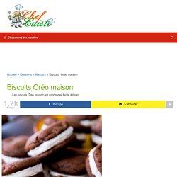 Recette secrète de biscuits Oréo maison!