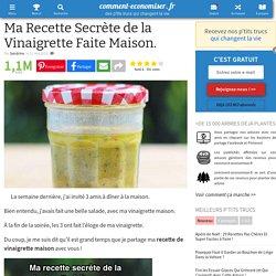 Ma Recette Secrète de la Vinaigrette Faite Maison.