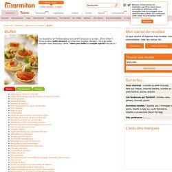 Recette Buffet : Notre sélection de recette de Buffet