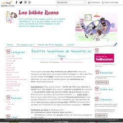 Recette simplissime de samoussa au thon - Les bébés Roses
