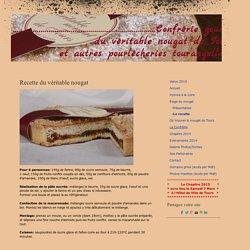 -La recette - Site lenougatdetours