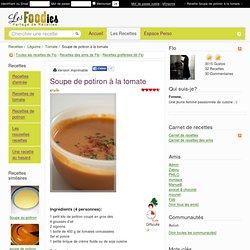 Recette de Soupe de potiron à la tomate