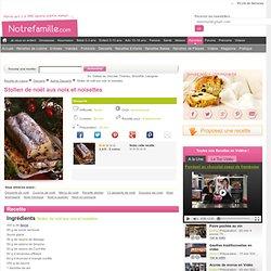 Recette de Stollen de noël aux noix et noisettes - Autres, Desserts - Réalisez votre Stollen de noël aux noix et noisettes