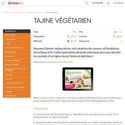 Recette Tajine Végétarien