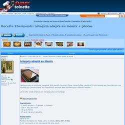 Recette Thermomix: Arlequin adapté au momix