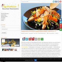 Recette Thermomix de Poulet sauce crémeuse au paprika OK