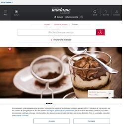 Recette tiramisu - Cuisine / Madame Figaro