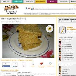 Gâteau au yaourt (au micro-onde), recette Dukan