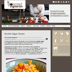Recette Vegan Tartare