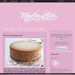 Recette Victoria Sponge Cake - Fairy Cake