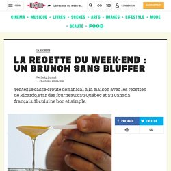 La recette du week-end : un brunch sans bluffer