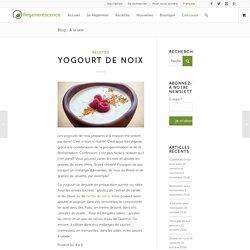 Recette de yaourt végétal à base d'amandes et de noix de cajou