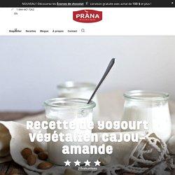 Recette de yogourt végétalien cajou-amande