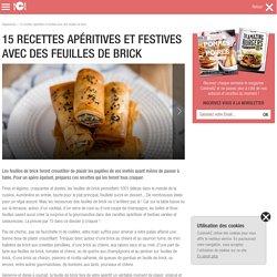 15 recettes apéritives et festives avec des feuilles de brick