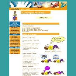 70 recettes pour bien respirer suite. Apprendre la respiration