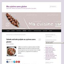 Recettes salées Archives - Ma cuisine sans gluten