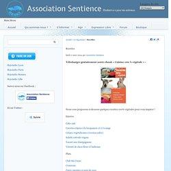 Recettes - Association Sentience