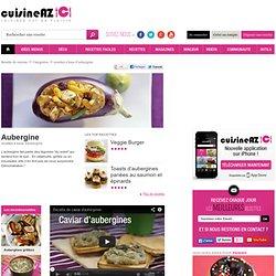 Aubergine, les recettes de Aubergine sur Cuisine AZ