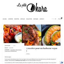 5 recettes pour un barbecue vegan