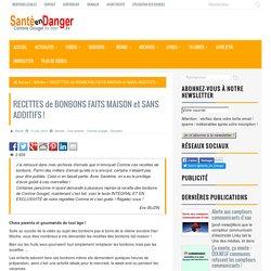 RECETTES de BONBONS FAITS MAISON et SANS ADDITIFS !