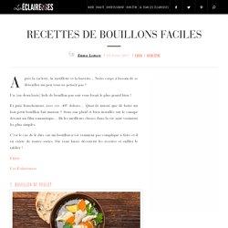 recettes de bouillons faciles