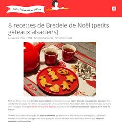 8 recettes de Bredele de Noël (petits gâteaux alsaciens)