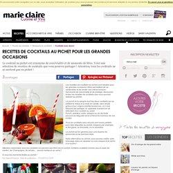 Recettes de cocktails au pichet