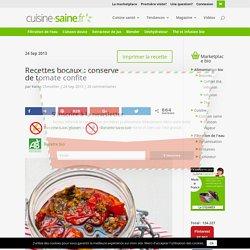 Conserve de tomate confite