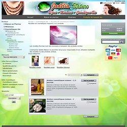 recettes cosmétiques maison, cosmétiques bio, produits de beauté bio - Jadélia Nature