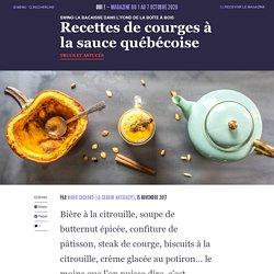 Recettes de courges à la sauce québécoise