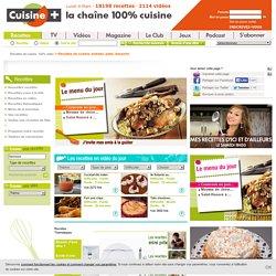 Recettes de cuisine, entrées, plats, desserts - CUISINE TV