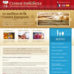 Recettes de cuisine espagnole